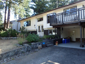 upper level of well maintained house - inside & out