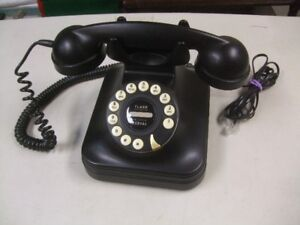 """POTTERY BARN"" - Pb GRAND PHONE - BLACK VINTAGE STYLE"