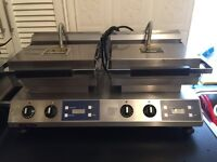 Rowlett Rutland double grill. Grill, snack bar, commercial, kitchen