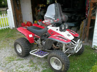 red yamaha atv for sale