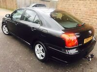 55 PLATE TOYOTA AVENSIS T3X AUTOMATIC ONLY 27K MILEAGE 5 STAMP HISTORY 2 OWNERS (SD55BXA)