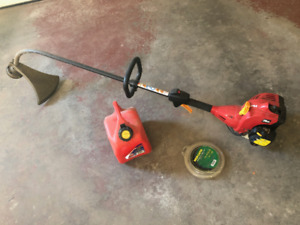 A gas powered trimmer for sale