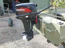 18hp Tohatsu outboard motor - short shaft Kyneton Macedon Ranges Preview