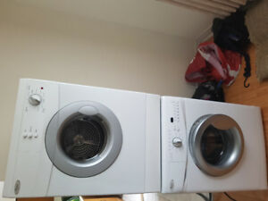 """24"""" whirlpool stackable washer//dryer"""