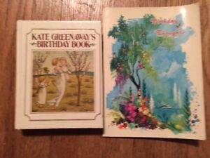 Kate Greenaway's Birthday Book & Birthday Thoughts , Ideals '66