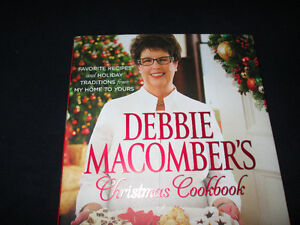 """Debbie Macomber's Christmas Cookbook"" *NEW*"