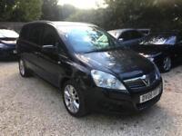 2008Vauxhall/Opel zafira 1.9 cdti elite bargain damaged salvage cheap family car
