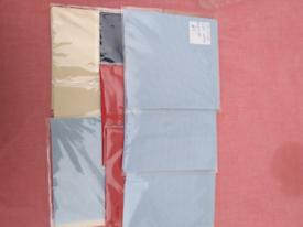 Aida cloth squares