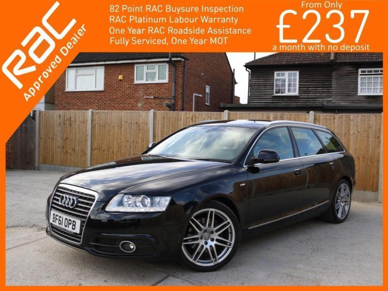2011 Audi A6 2.0 TDI Turbo Diesel S Line Special Edition Multitronic 7 Speed Aut