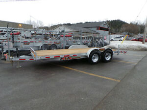 2017 N&N 5TON 18FT CAR HAULER / EQUIPMENT FLOAT GALVANIZED