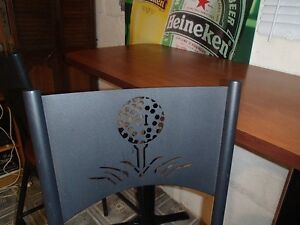 Custom 19th Hole Table and Chair Set One of A Kind Windsor Region Ontario image 4