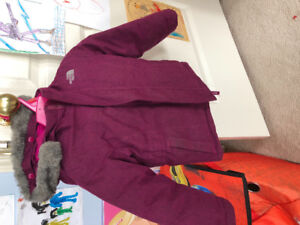 North face girls coat (extra warm) size 4