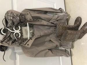 Coach jacket & Shoes