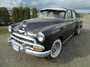 WEST COAST RUST FREE  52 CHEV  FREE WINTER STORAGE