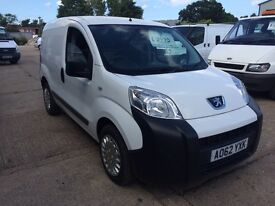 2013 peugeot bipper professional 1.2 hdi, 1 owner from new, great spec