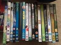 Joblot of 147 DVDs