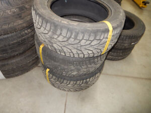 Various used winter tires and wheels for sale