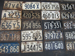 COOL OLD LICENSE PLATE FOR SHOP, MAN CAVE OR SIGN DECOR Only $10 Kitchener / Waterloo Kitchener Area image 7