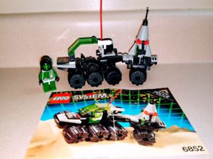 Lego 6852 Sonar Security,  from 1993, 63 pieces, complete set
