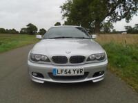 2004/54 BMW 3 SERIES 2.2 320CI SPORT 2DR AUTOMATIC SILVER - HUGE SPEC!