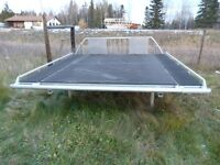 aluminum snowmobile ATV deck