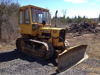 JOHN DEERE 450C BULLDOZER AND WINCH