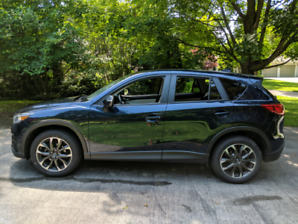 Mazda CX-5 GT with Tech Package, fully loaded with all of Safety