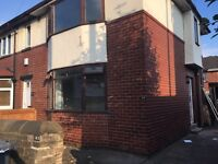 2 Bedroom house with off street parking and garage