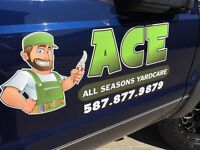 ACE All Seasons Yardcare and Outdoor Beautification