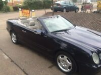 2002(52) Mercedes Benz CLK200 Full Dealership service history 2 Owners from new