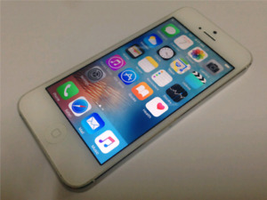 iPhone 5 64G • Unlocked • (White) • BRAND NEW! • FREE DELIVERY