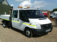 Ford Transit 350CREW CAB TIPPER ONE STOP 115 PS 6 SPEED 2010REG