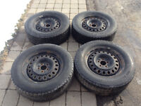 Toyota Venza winter tires and rims