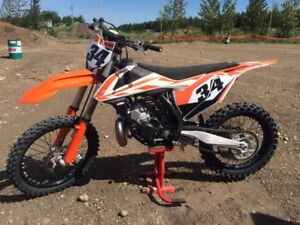 2017 KTM 250sx, only 21hrs