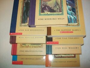 """9 different """"A Series of Unfortunate Events"""" Chapter Books St. John's Newfoundland image 1"""