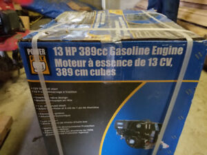 BRAND NEW 13HP 389cc OHV GAS ENGINE-$100-STILL IN BOX.