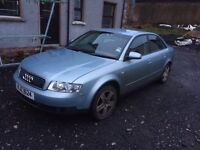 Audi A4 B6 Breaking for Parts