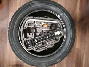 205/55 R16 - VW Spare Tire and Jack Kit