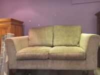 Nearly New Neutral 2 Seater DFS Sofa - CAN DELIVER