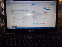 toshiba laptop l645d-s4056 2.4 ghz student programs see pictures