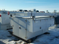 Just Arrived!! Used 8' Long Box Lockable DEMATCO Service Body Red Deer Alberta Preview
