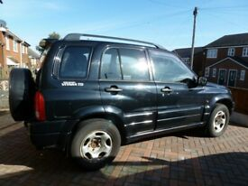 image for 2002 Suzuki Grand Vitara for Spares or Repairs