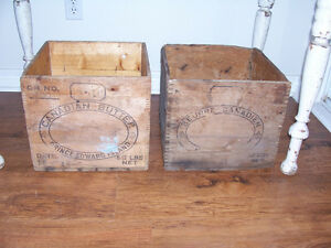 Antique Butter Boxes $35 EACH