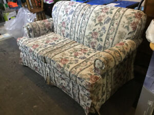 Love seat and dresser for free!