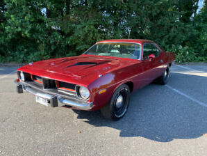 1974 cuda, 360, 4spd pistol grip,ralley dash, matching numbers