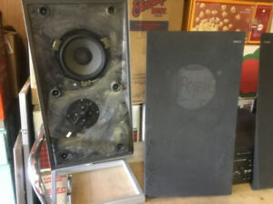 VINTAGE BANG AND OLUFSEN WALL SPEAKERS   P30 Model