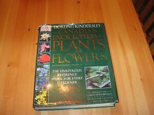 BOOK - CANADIAN  PLANT AND FLOWER ENCYCLOPEDIA - REDUCED!!!