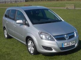 2010 (60) Vauxhall Zafira 1.6 Energy