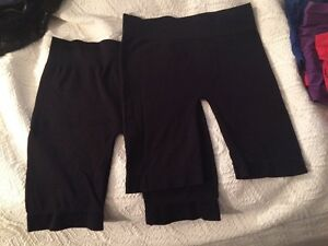 2 pairs of women's spanx/bicycle shorts - XL