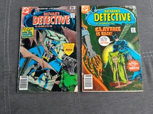 Detective Comics #477, 479. 1st app ClayFace 3